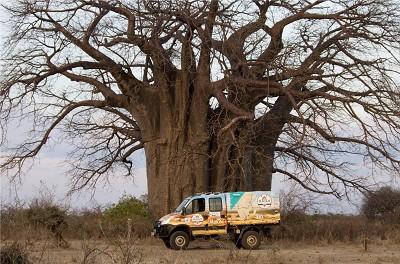 Le raid � Daily4Africa � �tait organis� pour la deuxi�me fois par Iveco.