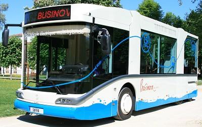 Le Businova de Safra va rouler � Toulouse, Gaillac et Albi (photo X D.R.)