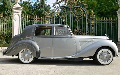 La Bentley Mark 6 de 1952 après restauration...