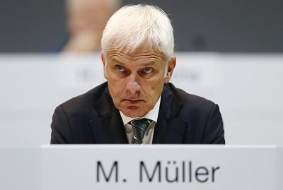 Matthias M�ller n'avait pas de tr�s bonnes nouvelles pour les 20&nbsp000&nbspemploy�s de VW (photo X D.R.)
