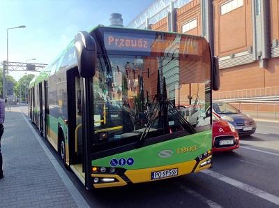 L'Urbino Euro 6 articul� 18 m new look. Vingt ont �t� livr�s par Solaris au r�seau de transport en commun de Poznan (photo Gilbert)