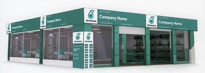 Voil� � quoi ressemblent les ateliers que l'huilier Petronas est en train d'installer en Europe...