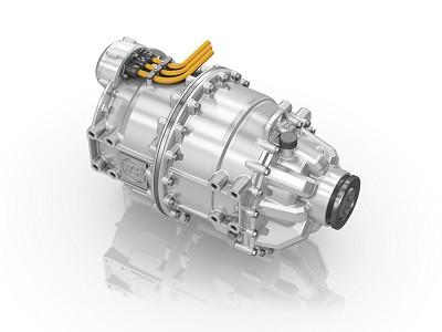 Le dispositif de moteur électrique central de ZF sera l'une des grandes nouveautés bus de l'équipementier au salon IAA de Hanovre (photo X D.R.)