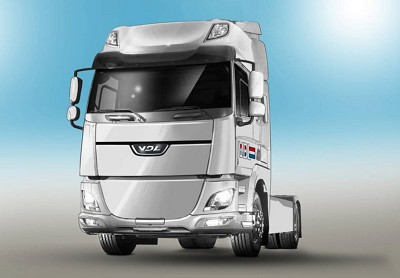Le futur 37-tonnes �lectrique de VDL r�alis� sur base Daf appara�tra d�but 2017 (photo X D.R.)