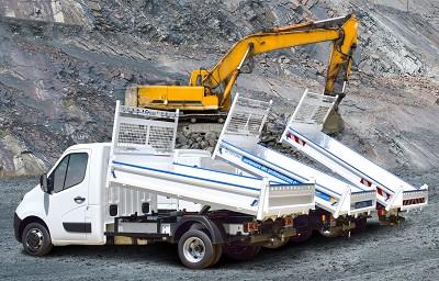 La benne Kerock peut équiper des véhicules dépassant largement les 3,5 t de PTAC.