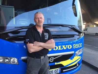 Olivier Normant est « le » spécialiste de la conduite au sein de Volvo (Photo Gilbert)