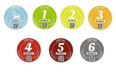 Les camions aussi sont concernés par Crit'air : classe 2 pour les Euro 6, 3 pour les Euro 5, 4 pour les Euro 4, 5 pour les Euro 3...