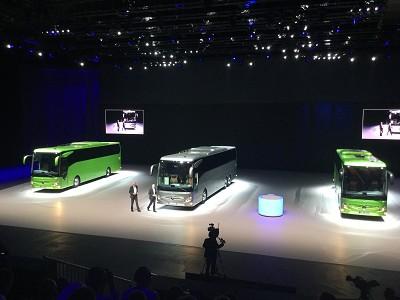 Le nouveau Tourismo RHD de Mercedes (photo Gilbert).