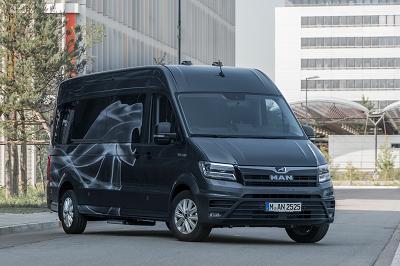 Le tout premier bureau mobile TGE sera utilisé comme véhicule de démonstration par la direction régionale des ventes camions de Man.