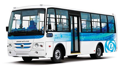 Le nouveau véhicule électrique d'Ashok Leyland pourra parcourir 120 km.