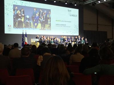Les Assises de la mobilité font le point sur les ateliers issus de 60 réunions dans toute la France (photo Gilbert)