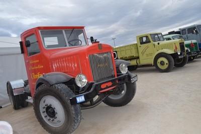 Les deux Willèmes CR 2 étaient en vedette au milieu des quelques vieux camions présents.