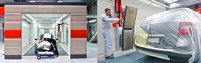Le système de séchage Drytonic permet un séchage ultra rapide des peintures et vernis.
