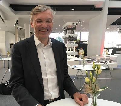 Wolf-Henning Scheider, nouveau PDG de ZF, a travaillé chez Bosch et le fabricant de pièces Malhe.
