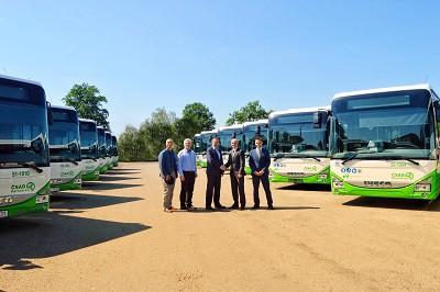 Le mercredi 6 juin dernier, la société de transport ČSAD Karviná a pris livraison des 23 premiers Crossway LE Natural Power.