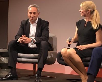 Rudi Kuchta lors d'une table-ronde dans le cadre de la présentation pré-IAA de Man à Berlin.