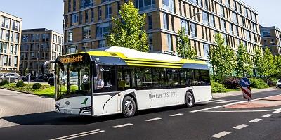 5 bus Urbino électriques roulent déjà aux couleurs de l'opérateur BVG à Berlin.