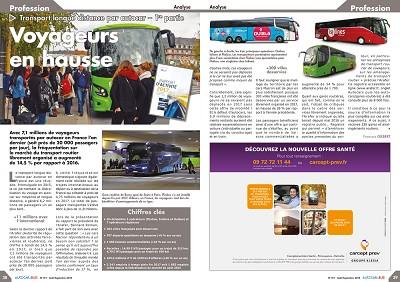 Dans son dernier numéro, Autocar et Bus Infos fait un bilan des cars longue distance.