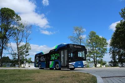 L'Urbino 12 électrique sera essayé durant un an à Tartu.