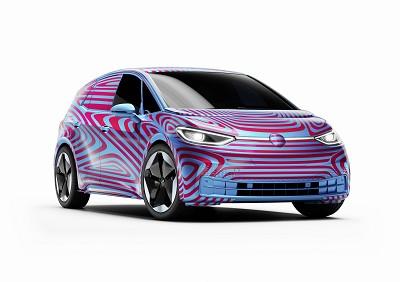 Berline compacte, la VW ID. 3, premier modèle 100 % électrique de la marque, est ouvert à la commande.