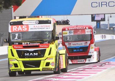 Janiec (n°1) fut le plus rapide, mais Robineau a profité du moindre incident de course.