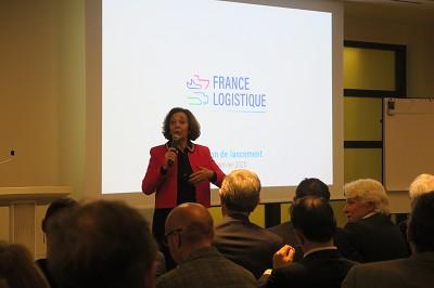 C'est l'ex-secrétaire d'Etat aux Transports Anne-Marie Idrac qui prend la tête de la plateforme associative France Logistique (photo Fréor)