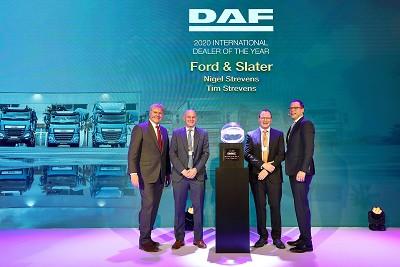 Nigel et Tim Strevers, propriétaires de Ford & Slaters (UK), ont obtenu les meilleures performances 2019 en vente de camions Daf.