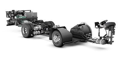 L'usine Volvo Bus de Boras fabrique essentiellement des châssis.