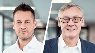 Andreas Gorbach et Christian Mohrdieck, les nouveaux dirigeants de l'entreprise