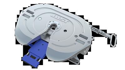 Les capteurs de la sellette d'attelage du système KKS 42 permettent de savoir, sans bouger de son siège, si la sellette et la plaque d'attelage sont en contact.